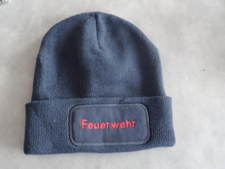 Mütze mit Stickerei FEUERWEHR